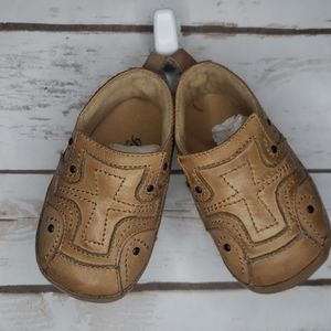 Mark Nason the rocker soft sole brown baby shoes